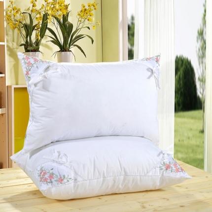 艾丽丝枕芯柔软舒适单人枕 薰衣草羽丝绒枕头芯韩版羽丝枕头枕芯