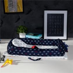 (总)便携式婴儿床床中全棉床新生儿宝宝哄睡觉神器可折叠仿生床
